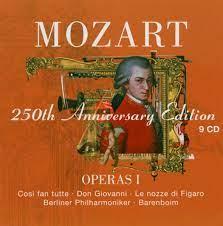 """Mozart 250th Anniversary Edition - Operas 1 / Barenboim ..."""" (Mozart  Wolfgang Amadeus ) – Tonträger gebraucht kaufen – A02hDEjT21ZZZ"""
