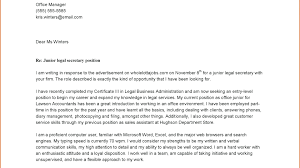 Hotel Receptionist Cover Letter Junior Sample Thewhyfactor