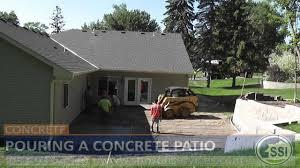Build A Concrete Patio Concrete Patio Contractors Mn How To Build A Concrete Patio