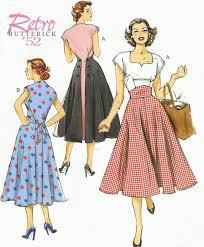 1950s Dress Patterns Interesting 48 Best Vintage Patterns Images On Pinterest Vintage Clothing