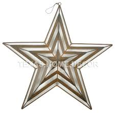 metal star wall decor:
