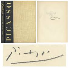 pablo picasso signed limited edition of picasso the recent years 1939 1946
