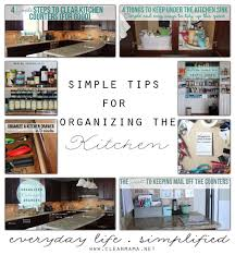 For Organizing Kitchen Simple Tips For Organizing The Kitchen Clean Mama