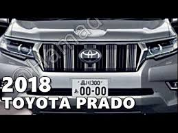 2018 toyota japan. exellent toyota 2018 toyota prado facelift  first look and toyota japan