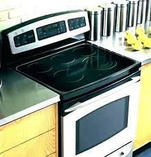 flat stove what do you use to clean glass top stoves whirlpool flat top stove cleaner