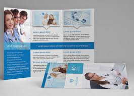 Medical Brochure Template Adorable Healthcare Brochure Templates Free Download Csoforum