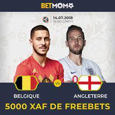 Bet Momo - Jeu-concours Belgique - Angleterre Quel sera le...