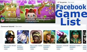List of Best Facebook Messenger Games