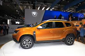 2018 renault duster. fine 2018 2018 dacia duster 2 live photos from 2017 frankfurt motor show to renault duster