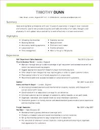 Resume Resume Examples Best Sample New Licensed For Lvn