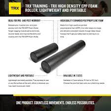 Trx Training High Density Epp Foam Roller Lightweight And Portable