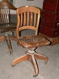 antique wooden office chair. old wooden swivel desk chair antique office