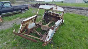 in a field outside lima ohio a civil defense crosley wagon rusts junkyard crosley pickup spotted in lima ohio rear