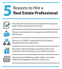 reasons to hire a real estate agent add comment
