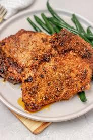 easy oven baked pork chops recipe the