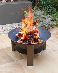 cast iron fire pit jamie durie for big