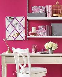 pink home office. Pink Home Office