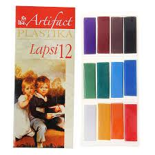 <b>Пластика LAPSI</b> 12 классических цветов 240 гр | Купить по ...