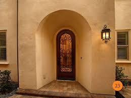 How To Choose Front Door Glass Inserts Todays Entry Doors - Iron exterior door