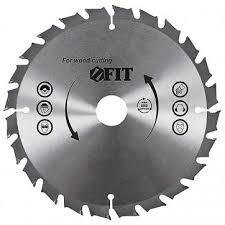 диск пильный fit по дереву 140х20мм 24 зубьев