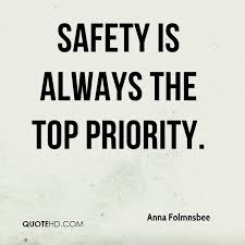 Safety Quotes Classy Anna Folmnsbee Quotes QuoteHD