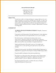 Pharmacy Resume Examples Cool cover letter sample resume pharmacist hospital pharmacist sample