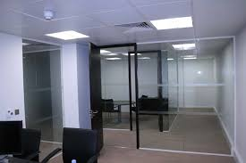 office partitions with doors. Octopus 100 Glazed Partition Installation In Grosvenor Street, Mayfair, London W1 Office Partitions With Doors