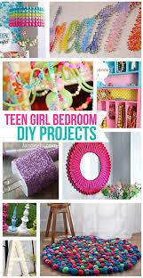 amazing of diy room decor projects teen girl bedroom diy projects landeelu