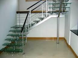 glass stair railing design ideas