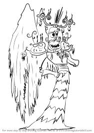 learn how to draw xibalba from the book of life the book of life step by step drawing tutorials