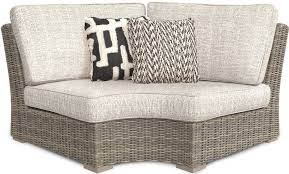Outdoor sectional Shaped Beachcroft Beige Outdoor Sectional Media Gallery Amazoncom Signature Design By Ashley Beachcroft Beige Outdoor Sectional
