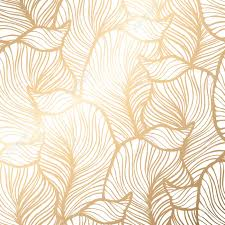 Gold Pattern Awesome Damask Seamless Floral Pattern Royal Wallpaper Vector Illustration