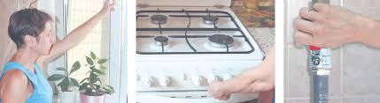 Правила пользования газовой плитой ОБЖ Реферат доклад  Открыть вентиль на газовой трубе или на баллоне