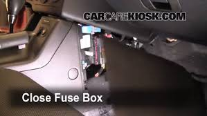 interior fuse box location pontiac g pontiac g interior fuse box location 2005 2010 pontiac g6 2007 pontiac g6 3 5l v6