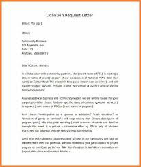 Sample Donation Request Letter For Non Profit Party Invitations ...