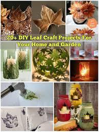 diy crafts for your house. 20+ diy leaf craft projects for your home and garden diy crafts house u