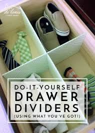 Organize any drawer with DIY Drawer Dividers (Using What You've ...