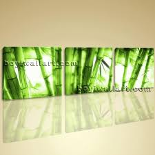Abstract Feng Shui Painting Print On Canvas Bamboo Wall Art Home Deocr  Within Feng Shui Wall