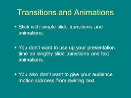 powerpoint guidelines wv envirothon current environmental  transitions and animations stick simple slide transitions and animations