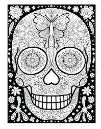 book sugar skull print out sugar skull print out sugar skull coloring book and medium size of sugar skull coloring page sugar skull template for frame