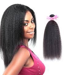 Black Weave Hairstyles 54 Amazing 24 Piece Kinky Yaki Straight Brazilian Virgin Hair Weave R Grade