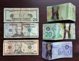 Man American money is sure gross ...