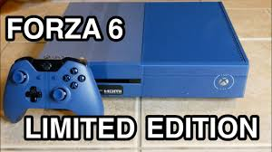 forza 6 xbox one limited edition bundle unboxing