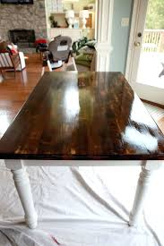 refinish a dining room table tip top table refinished dining refinished black dining room table