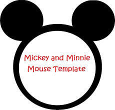 Minnie Mouse Silhouette Template Free Download Clip Art Free