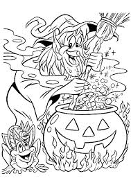 Coloriage Sorci Res Halloween Sur Hugolescargot Com