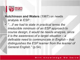 Unit 2: Learner Needs Analysis - Ppt Video Online Download