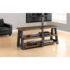 better homes and gardens tv stand. Better Homes And Gardens TV Brown 3-in-1 Mercer Stand For TVs Up Tv S