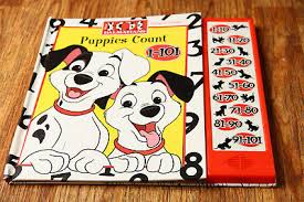 101 dalmatians play a sound book sold as is untested disney 1996 puppies count
