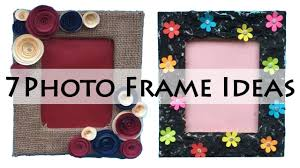 diy photo frame ideas picture frame ideas photo frame making at home